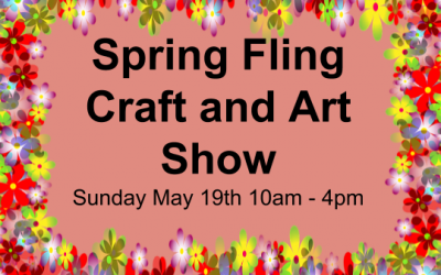 Spring Fling Craft and Art Show